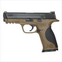 "Smith & Wesson S&W M&P9 Flat Dark Earth FDE Full Size Pistol  4.25"" 17rd 10188"