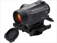 Sig Sauer ROMEO4S Red Dot Sight 1x Ballistic Reticle Torx and Quick-Release Mounts Solar/Battery Powered Graphite SOR43021 798681567867