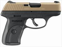 Ruger LC9S Pro 9mm Pistol with Shimmering Gold CeraKote Finish