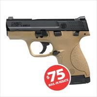 Smith and Wesson 10303 M&P9 Shield FDE 9mm Pistol Only $224.99 after MIR!!!