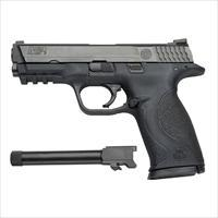 Smith and Wesson M&P9 9mm Pistol with Threaded Barrel Kit 150922
