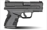 "Springfield Armory XD45 Mod.2 .45 ACP 3"" 9+1, 13+1 SubCompact Pistol Essentialls Kit - XDG9845BHC 706397899790"