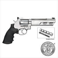 "S&W Model 686 Competitor 6"" Weighted Barrel .357 Mag Revolver Performance Center 170319"