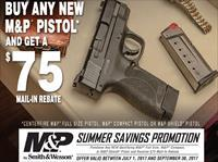"Smith & Wesson 11521 S&W M&P 2.0 9MM 4.25"" 17rd+1 W/O Safety ONLY $354.99 after Mail in Rebate! or Free Goods!"