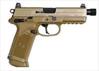 FNH FNX-45 Tactical .45 ACP FDE with 3 magazines and soft case 66968