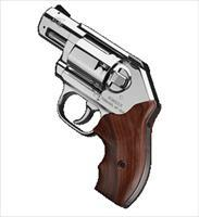 Kimber America First Edition Stainless Revolver Model K6S .357 Magnum Handgun with Hardwood Display Case 3400001 669278340012