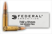Federal Lake City XM80 XM80C 7.62x51 NATO 308 WIN FMJ 149 Grain 500 Round Case 308 AMMO