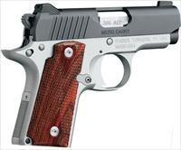 Kimber America Micro Rosewood Two Tone .380 ACP 1911 Style Pistol 3700354 669278373546