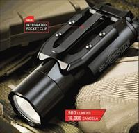 Surefire Y300 Ultra 500 Lumens Flashlight/Weaponlight Y300U-A-BK