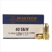 Magtech Ammunition 40 S&W 180 Grain Full Metal Jacket 1000 round Case Bulk Ammo