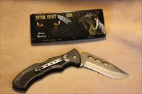 "5"" folding knife w/Stainless Steel Blade - great for field use"