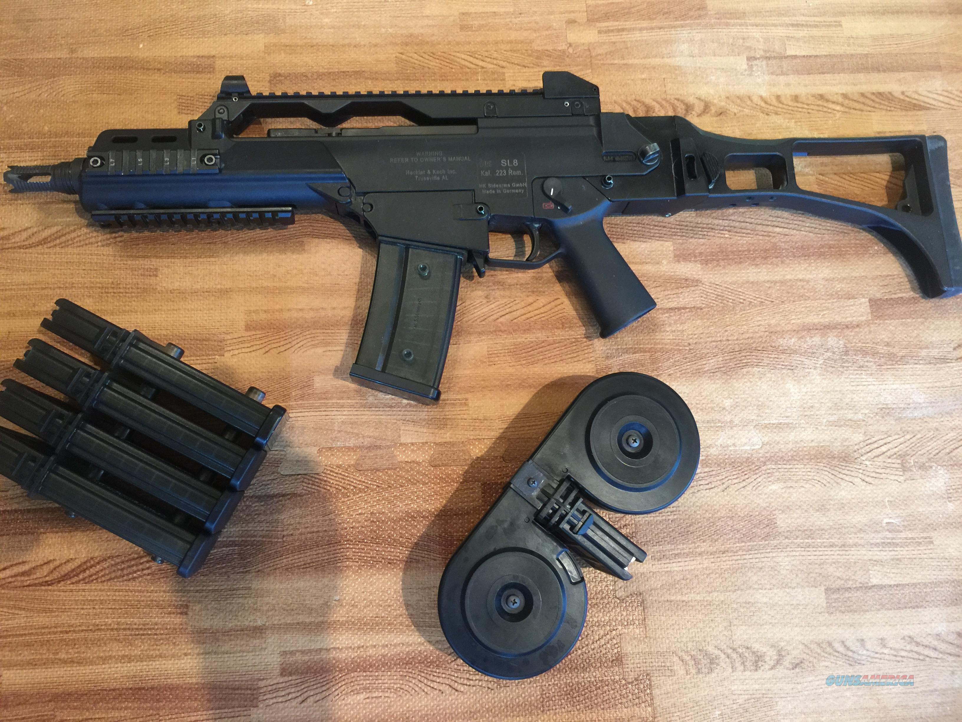 SL8 to H&K G36 conversion