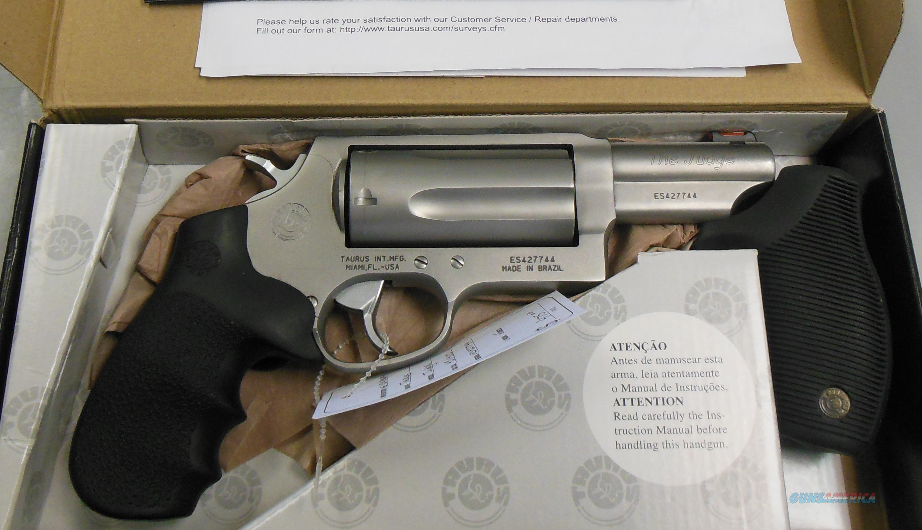 Taurus Judge m4510mag Matte Stainless