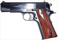"Colt  1991 Series Commander 45 ACP 4.25"" 7+1 Rosewood Grip Blued **FINANCING/LAY-AWAY AVAILABLE!! NO CREDIT CHECK! CONTACT US FOR DETAILS**"