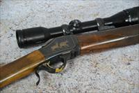 Browning Model 1885 Highwall sing shot rifle .22 - 250
