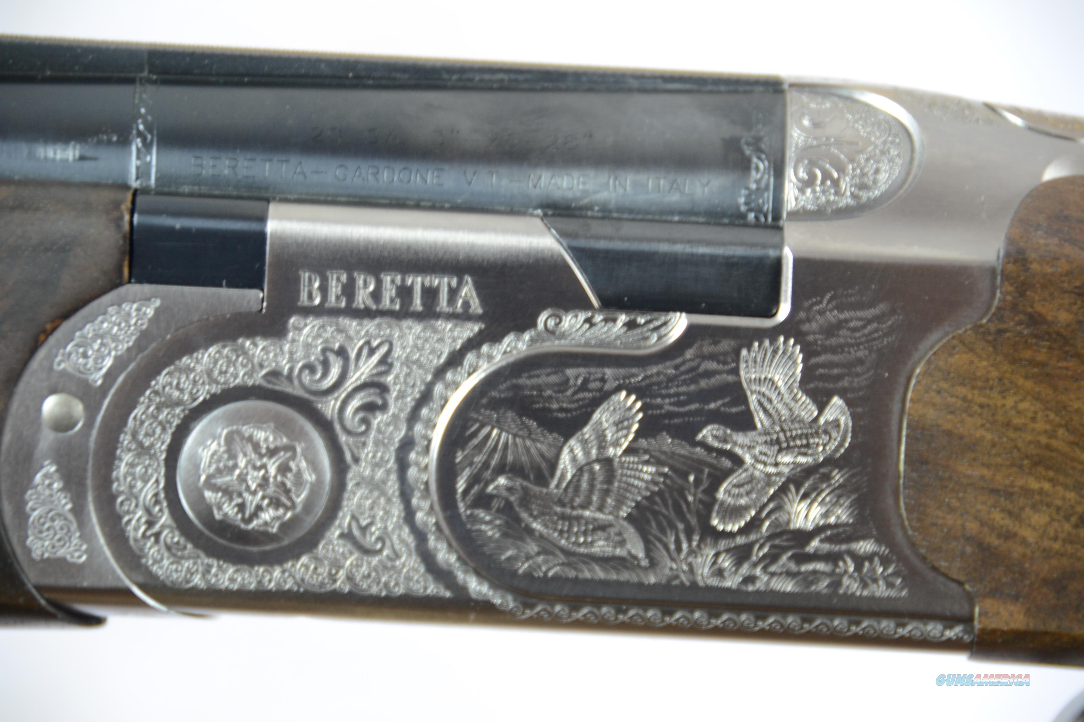Beretta 686 Silver Pigeon DELUXE Field Limited Edition 20a 28