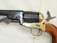 Navy Colt Model 1851, 44 Cal Black Powder, Single Action,  Italy, Percussion