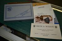 SMITH & WESSON MODEL 37 BOX ONLY WITH PAPERS