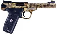 "Smith & Wesson Victory 22LR Special Edition Kryptek Highlander Camo w/Fiber Optic Sights 5.5"" 10+1!"