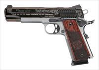 "Sig Sauer 1911 Limited Edition Texas Engraved Rosewood Polished Blue w/Silver 5"" 8 Shot!"