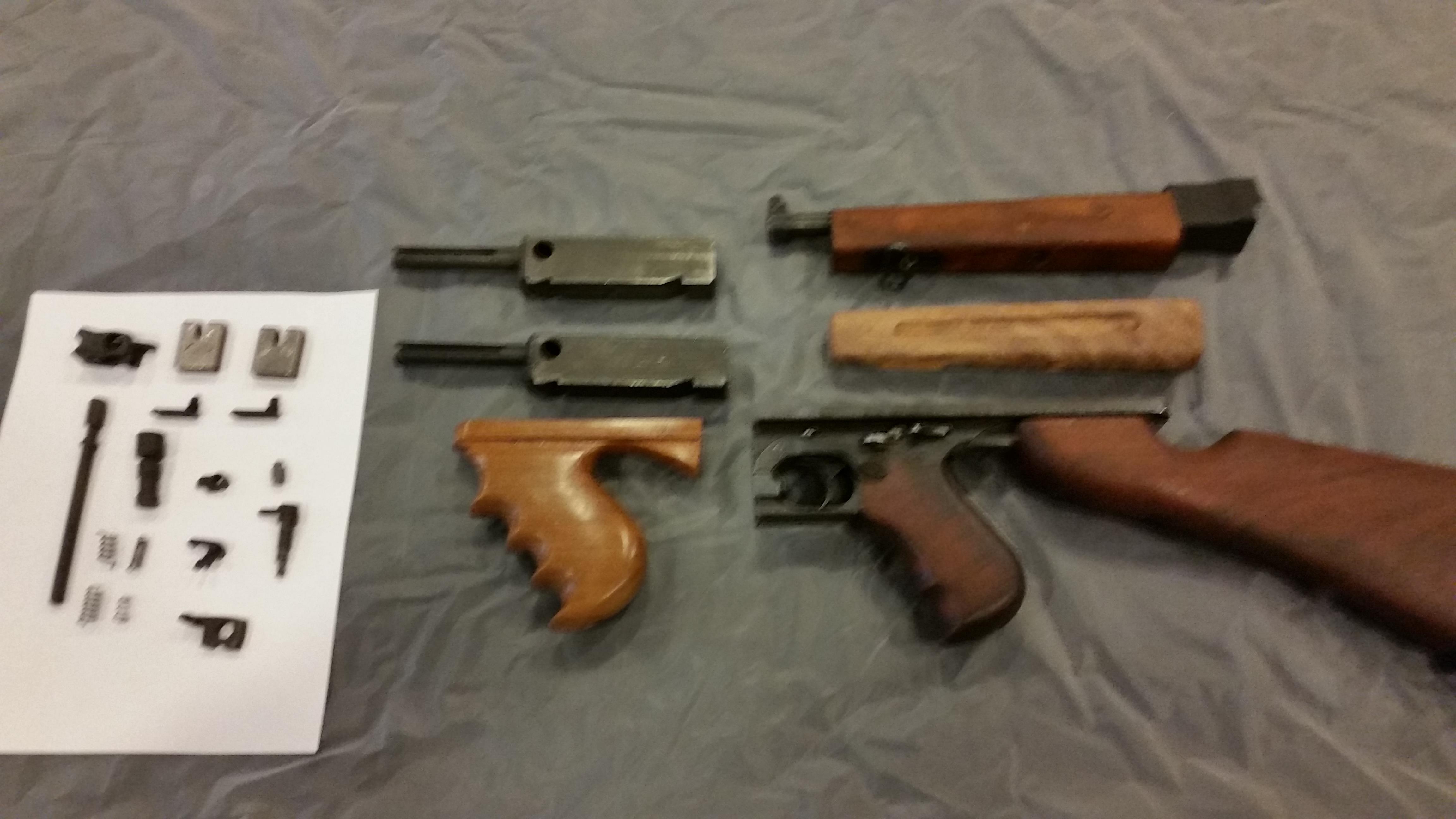 Thompson M1A1 full auto parts kit