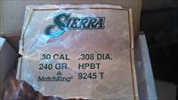 500 count box Sierra Match king 30 cal. bullets