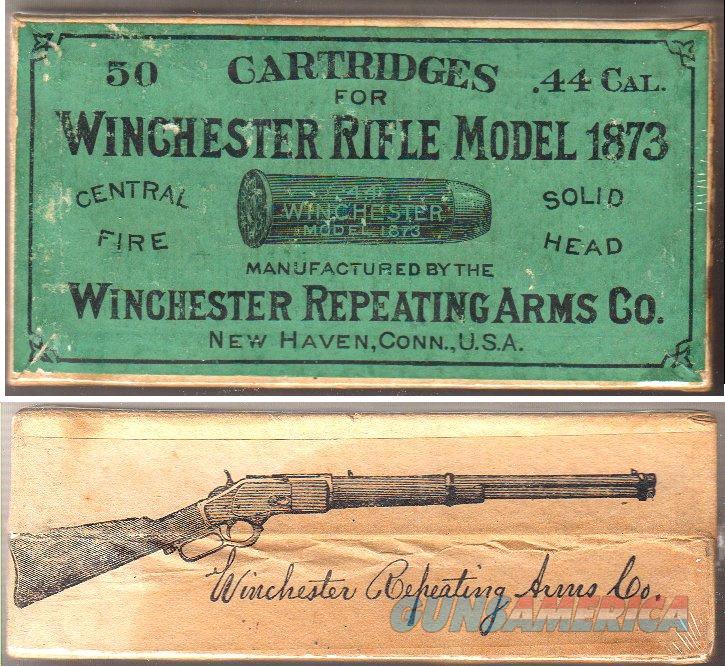 Antique Winchester 44-40 Ammunition sealed
