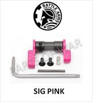 BATTLE ARMS PINK BAD-ASS AMBIDEXTROUS SAFETY SELECTOR 90 DEG BLACK STD/SHORT