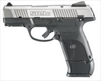 RUGER SR9C Compact 9mm 3.5 Inch Brushed Stainless -- Free Shipping!