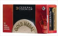 Federal Premium Match 22LR 40Gr Lead Round Nose CASE OF 500 922A - FREE SHIPPING!
