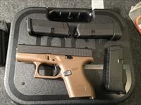 GLOCK MODEL 42 FDE 3 MAGS AND HOLSTER