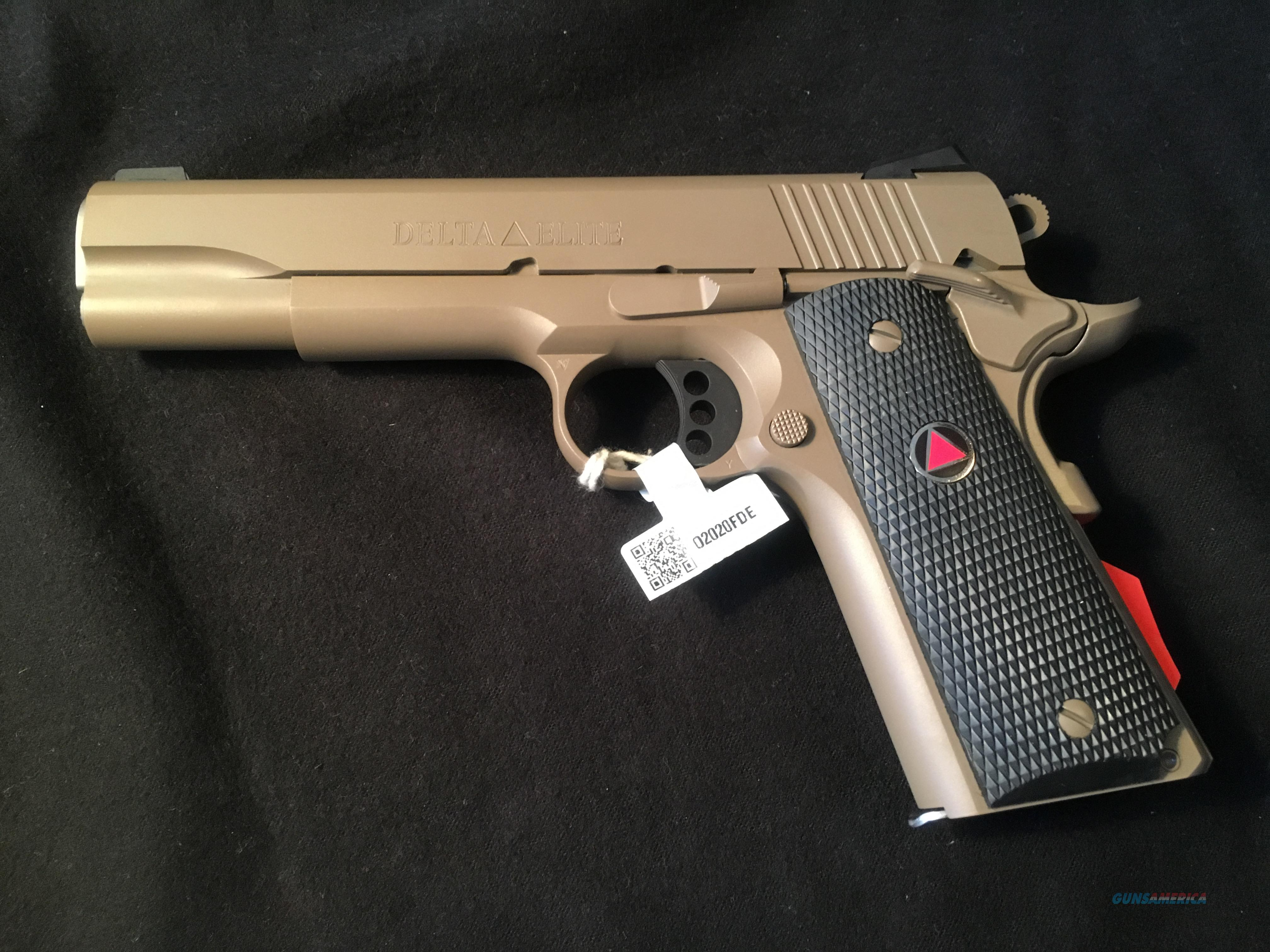 Colt Delta Elite Fde For Sale
