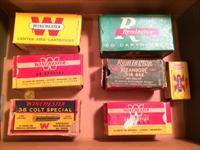 Assorted Winchester & Remmington Vintage Ammunition