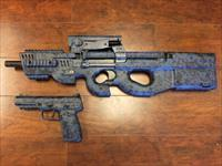 PS90 Digital Navy Camo & Marching FN57 MKII - WOW!
