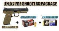 FN Five seveN MKII FDE Shooters Package! FLAT DARK EARTH w/ AMMO!