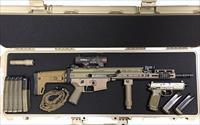 NIB FULLY CUSTOM SCAR 16s FDE in Pelican Case & Elcan Optic - MUST SEE
