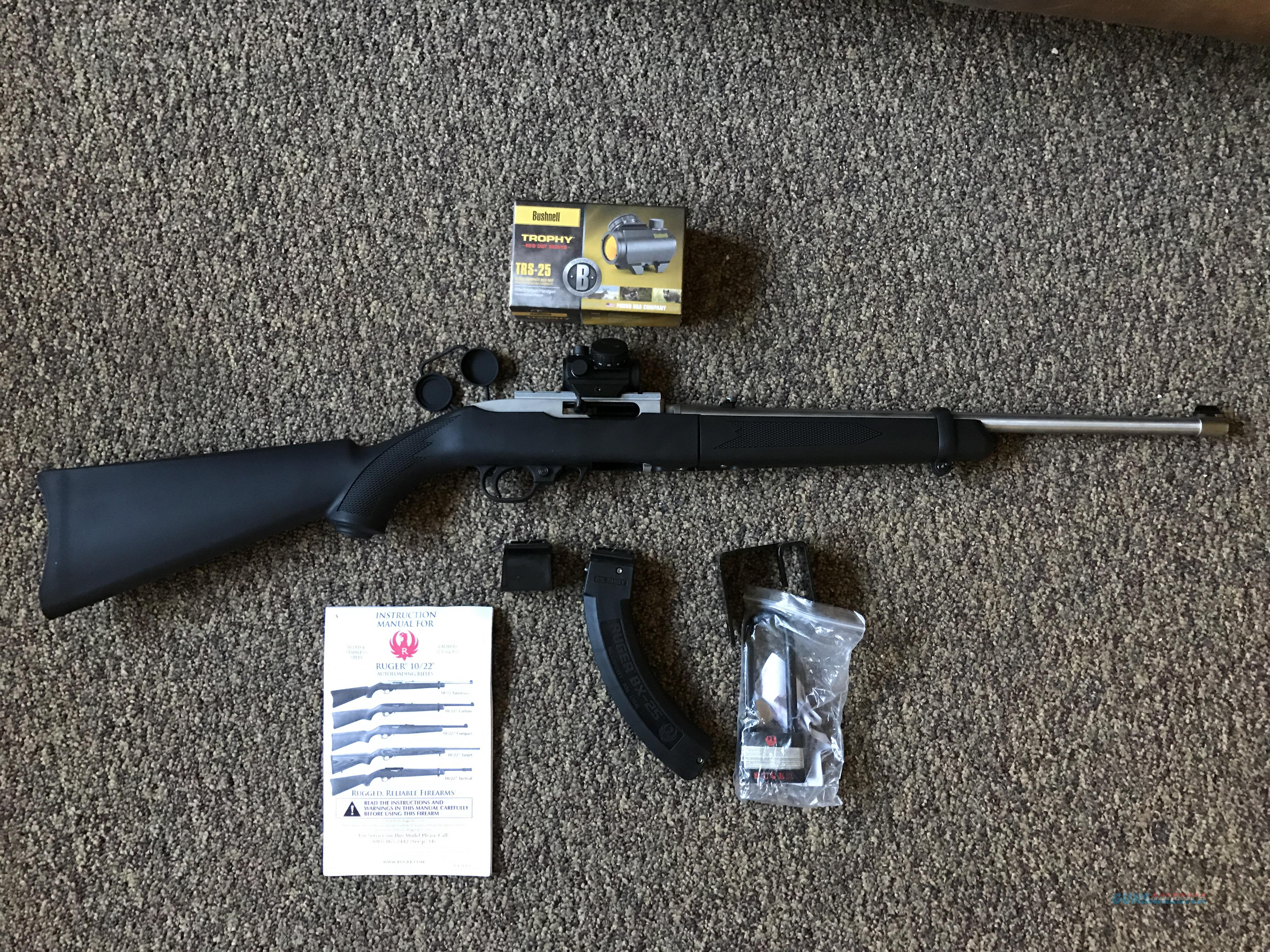 Bushnell trophy trs-25 red dot review.