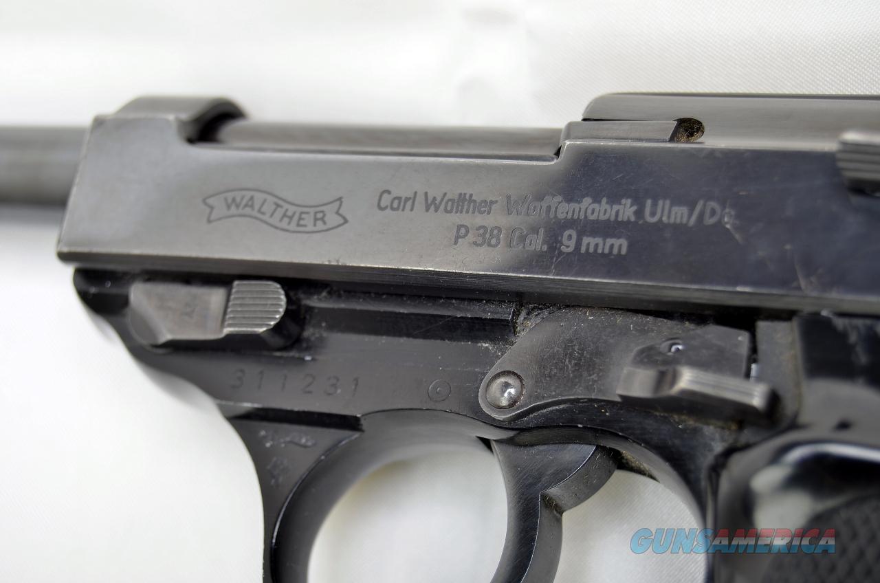1968 Carl Walther Waffenfabrik Ulm/Do P38 9mm