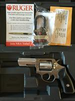 Brand New/Never Fired Ruger .357 Magnum SP 101 with Case