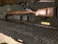 "M21  SA9131 Adjustable cheek comb Walnut stock w/ Heavy Match 22"" Krieger stainless steel barrel"