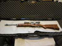 Very Clean Stainless Steel Sturm Ruger Rifle Mini-14  w/Hardwood Stock