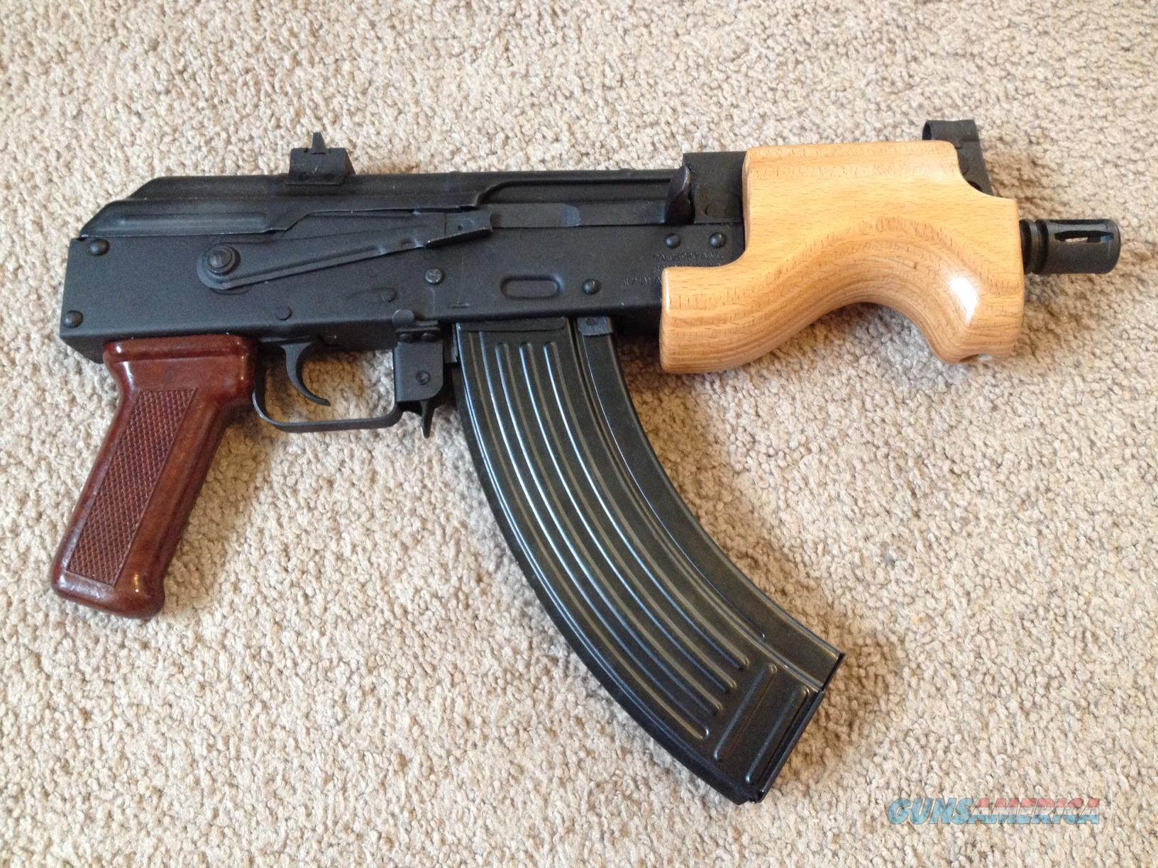 micro mini ak 47 pistol smallest ak pistol made for sale. Black Bedroom Furniture Sets. Home Design Ideas
