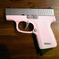 Kahr P380 Pink Frame and Matte Stainless Slide