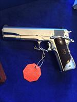 Colt 1911 series 70 BSTS stunning mirror luster .45 acp MUST SEE THIS collector grade