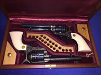 Beautiful RARE set Beretta Stampede General Patton Factory Engraved set.low serial # 6