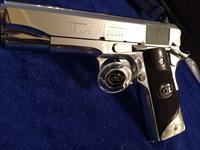 Colt Commander GORGEOUS Bright Stainless MIRRORED Finish NEW 100% mint