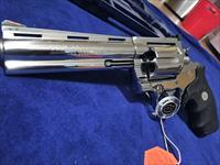 "GORGEOUS Colt Anaconda 6"" .45 Colt Caliber RARE Bright Stainless MIRRORED FINISH NEW IN BOW"