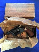 Beautiful Colt Cobra w/ original box blued snubby complete Collector grade .38
