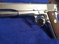 GORGEOUS Colt 1911 BRIGHT STAINLESS BSTS series 80 FLAWLESS