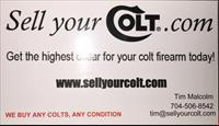I buy colts, Pythons king cobras boas anacondas vipers diamondbacks and more sellyourcolt.com